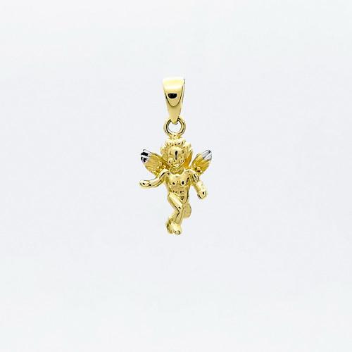Zlatý prívesok anjel