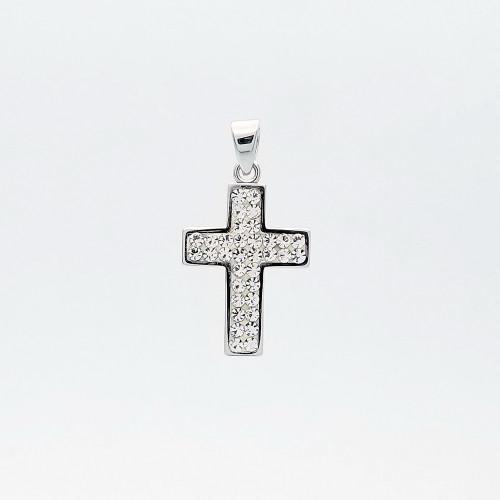 Zlatý prívesok kríž