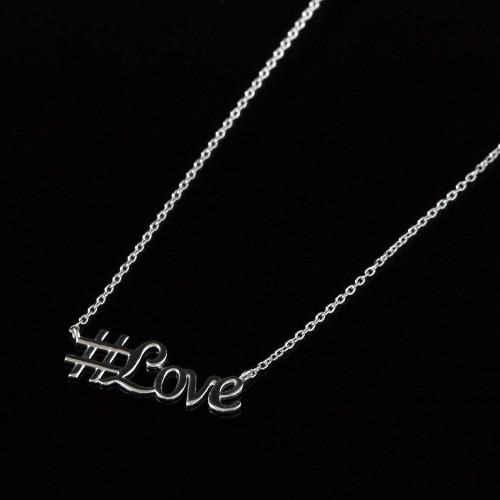 Náhrdelník s #love