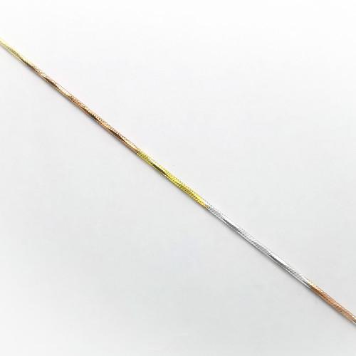 """Strieborná retiazka, náramok kombinovaná""""020"""""""